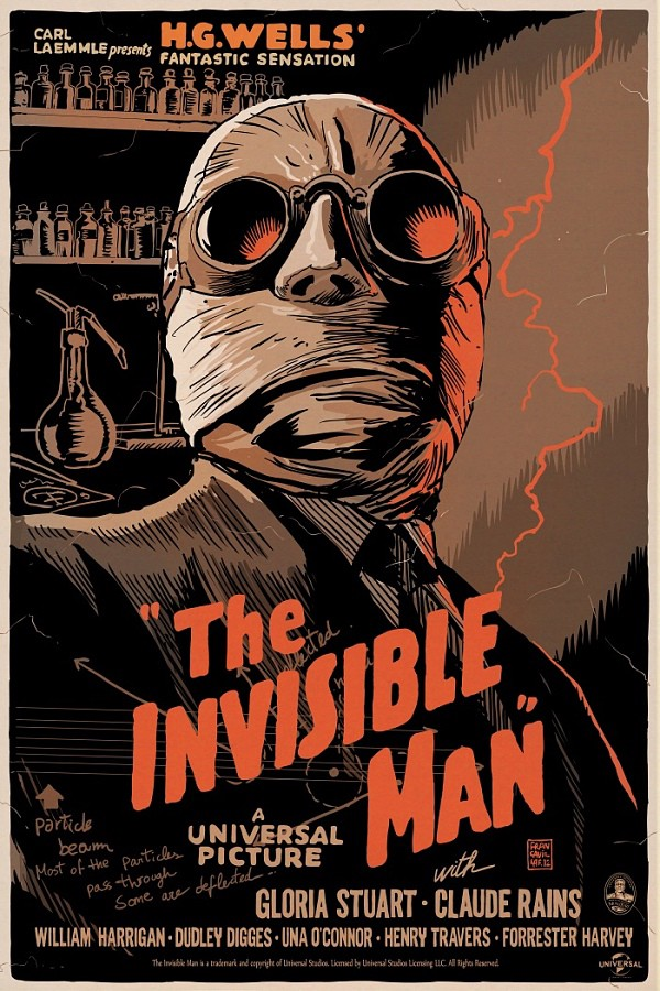 The Invisible Man film poster