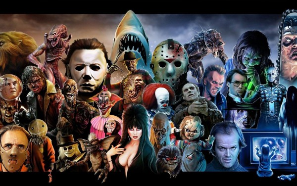Horror film icons throughout the years