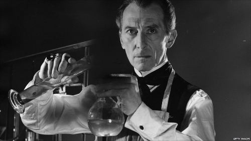 Peter Cushing, The Curse of Frankenstein - 1957