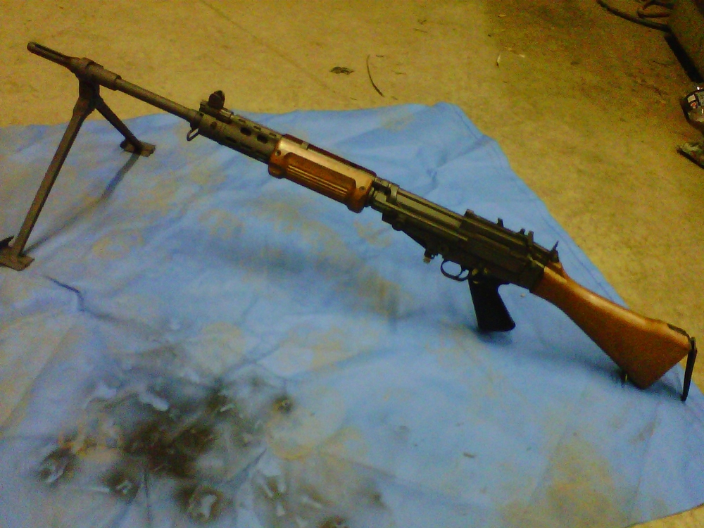 Heavy Barrel Israeli FAL build and refinish