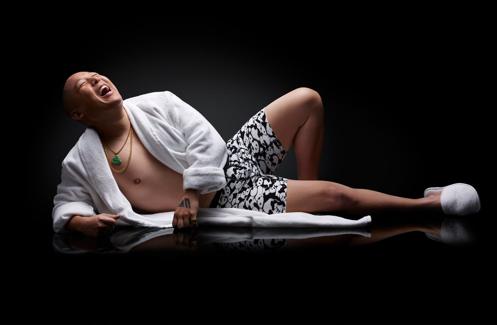 Challenging Norms - Turning Restaurateur, Chef, Author and TV host Eddie Huang into an underwear model for MeUndies.