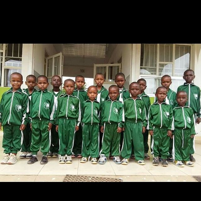 The tanzania 12 in their track suits at Intel school!! can't wait to see my babies in december! #proud #sponsor #nonprofitorganization #educatingtanzaniafoundation #arusha #tanzania #volunteer #school #educationfirst  #love #babies #donate #intelschool #tupendane