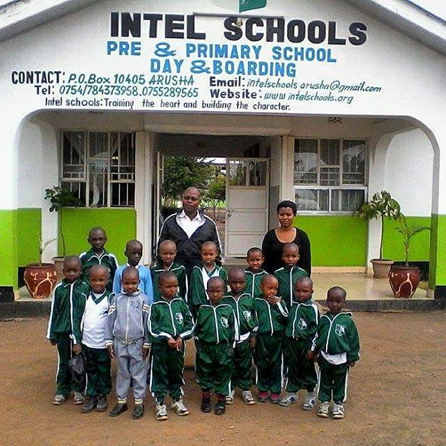 After a break inbetween semesters, the kids arrive back at #intelschool to being another successful term! The Man in the back is Emanuel, the director of Tupendane Orphanage where these children have grown up. The woman in back is the orphanage teacher, Rose. She continues to teach the kiddos at Tupendane. The kids love her and so do we! #intelschool #knowledgeispower #boardingschool #arusha #tanzania #foundation #africa #sponsor #donate #educate #donatenow #help #nonprofit #educatingtanzaniafoundation #volunteer #kids #tupendane #orphans #teach #reachforthestars #sponsorship #commitment #love #peace