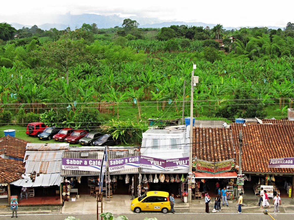 Road side views in La Zona Cafetera
