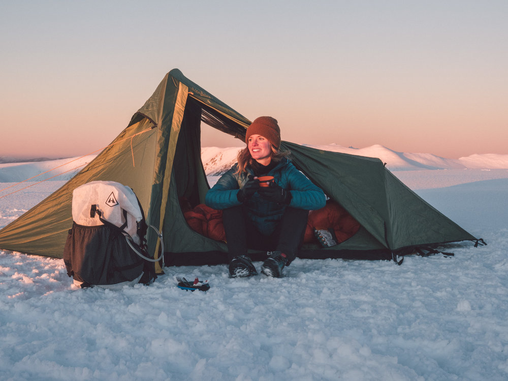 Winter Camping New Zealand