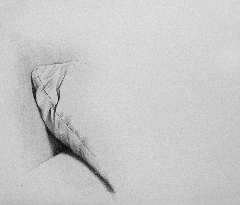 Still Life, pencil on paper,500x700 mm