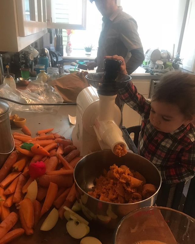 I️ thought we wanted a play kitchen to keep Kai busy while we cooked. Turns out that having him involved in the kitchen is even better!