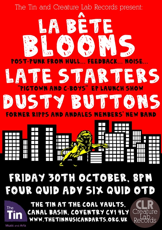 Late Starters EP Launch Poster