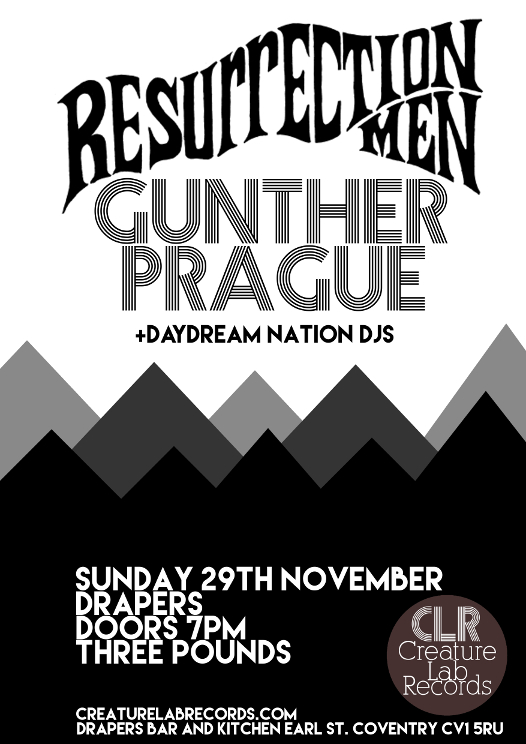 Resurrection Men / Gunther Prague Poster