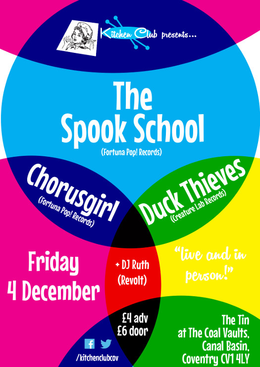 Spook School / Chorusgirl / Duck Thieves