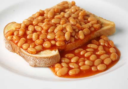 My family has a closely guarded recipe for beans on toast which has been handed down from generation to generation.  The secret ingredient is toast, and beans.