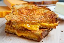 mmm ... delicious grilled cheese sandwich