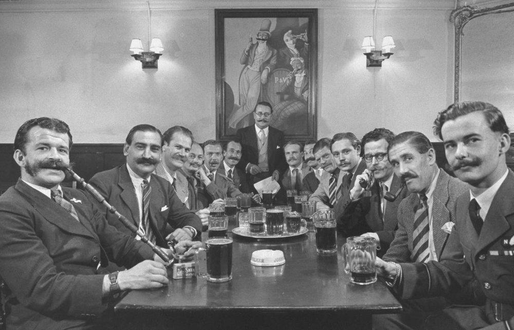 Men's Fellowship - it's like any other kind of fellowship but with more moustaches.