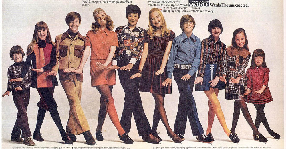"70's fashion. I have 1000 questions - and all of them are ""Why?"""