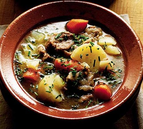 "The preferred food of Policemen and women everywhere. ""Irish stew in the name of the law …"""
