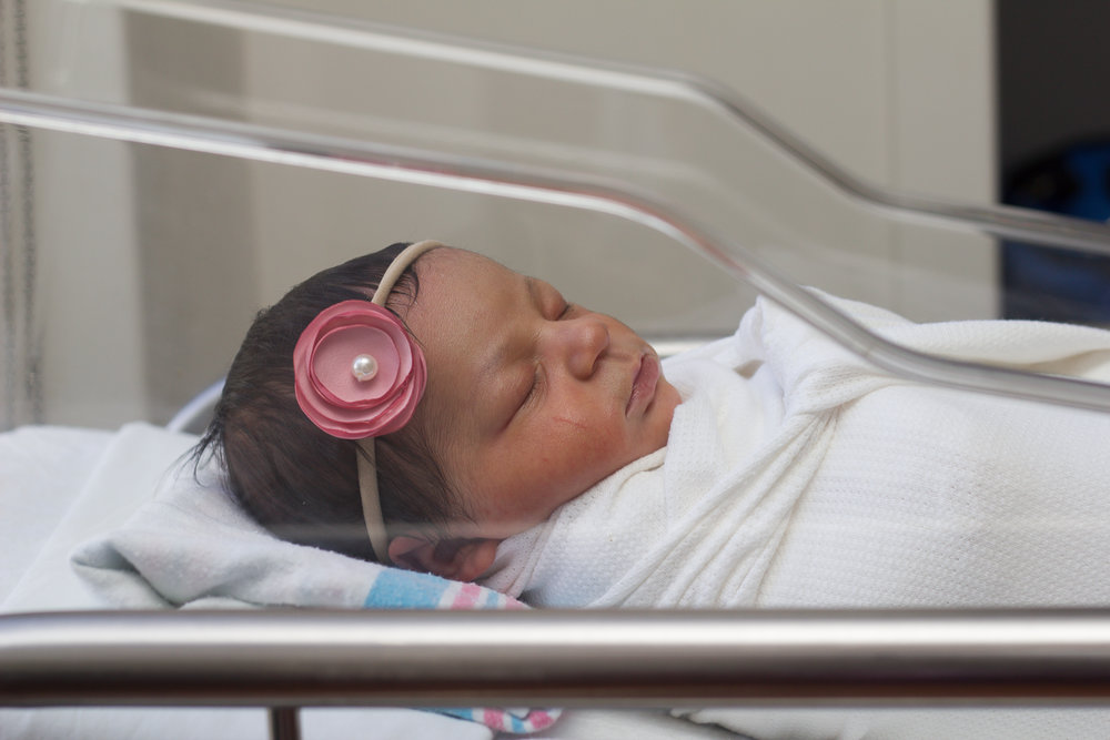 Rex-hospital-newborn-photography-fresh-48-Rex-hospital-newborn-photographer-baby-girl-in-bassinet