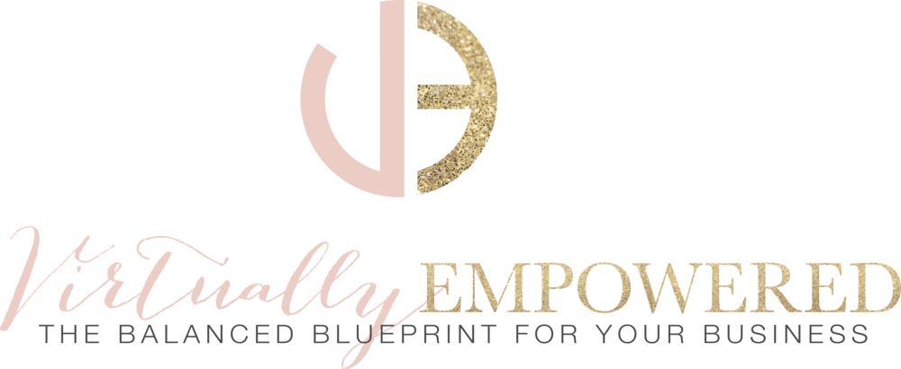 Virtually Empowered Logo & Branding