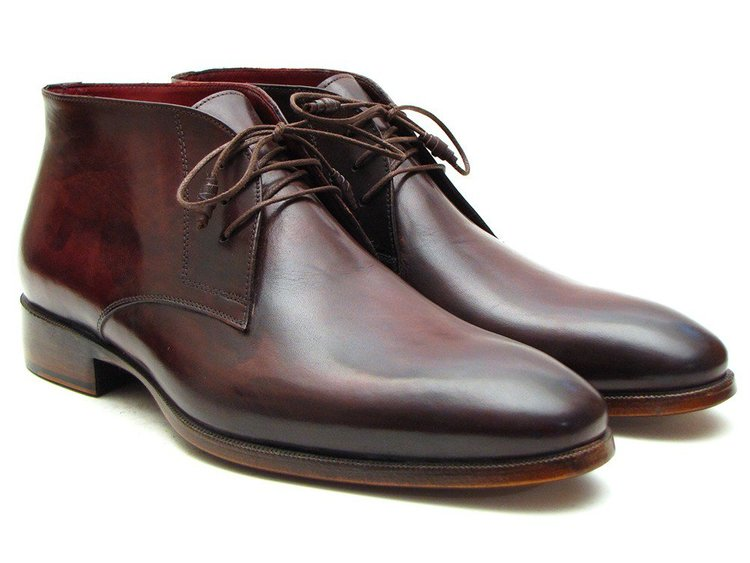 CHURCHILL - Chukka Boot BROWN/BORDEAUX — M Andrews Sartorial ...