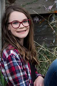 State Finalist #2 Delaney Halverson Miss North Dakota State Fair's Outstanding Teen