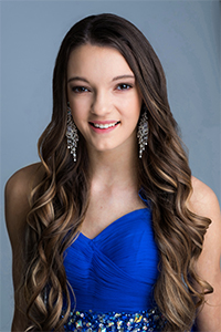 State Finalist #6 Jasmine Wutzke Miss State Capitol's Outstanding Teen