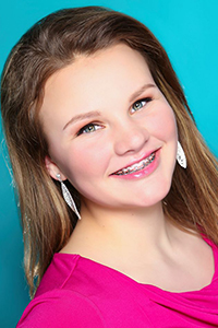 State Finalist #8 Ilanora Peterson Miss Oil Country's Outstanding Teen