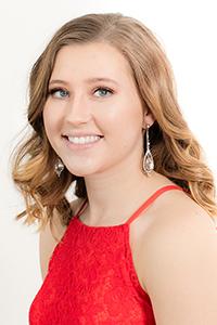 State Finalist #4 Olivia Buckeye Miss White Cloud Days