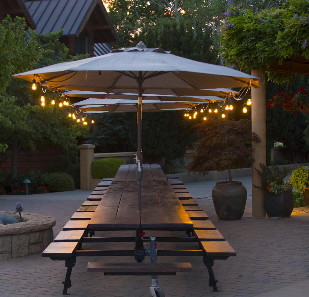 Big Big Table Umbrella U2014 Three