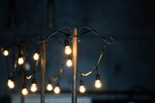 light poles for cafe lighting event rental tables walla walla