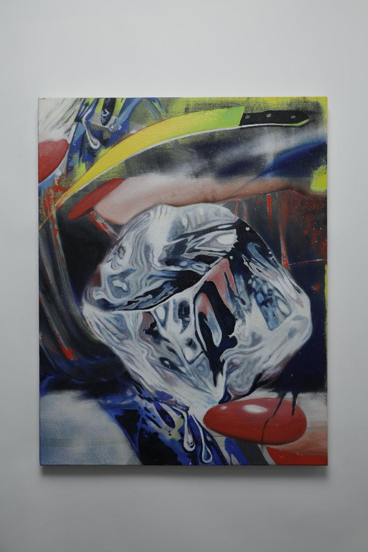 Ice Cold Killa  - Oil on canvas - 55cm x 70cm - 2019