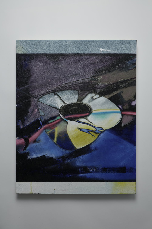 Flop -  oil on canvas - 55cm x 70cm - 2018