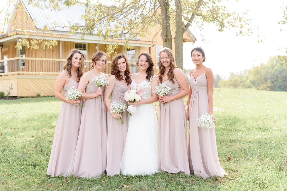 bridesmaids kentucky wedding january june photography