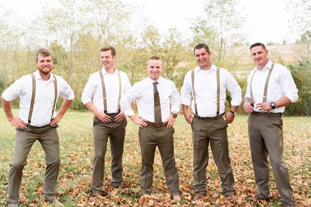 groomsmen kentucky wedding outdoors january june photography