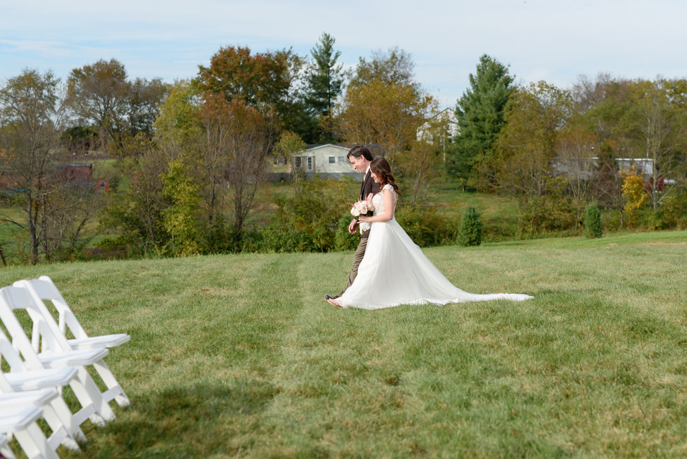 father and bride outdoor kentucky wedding january june photography