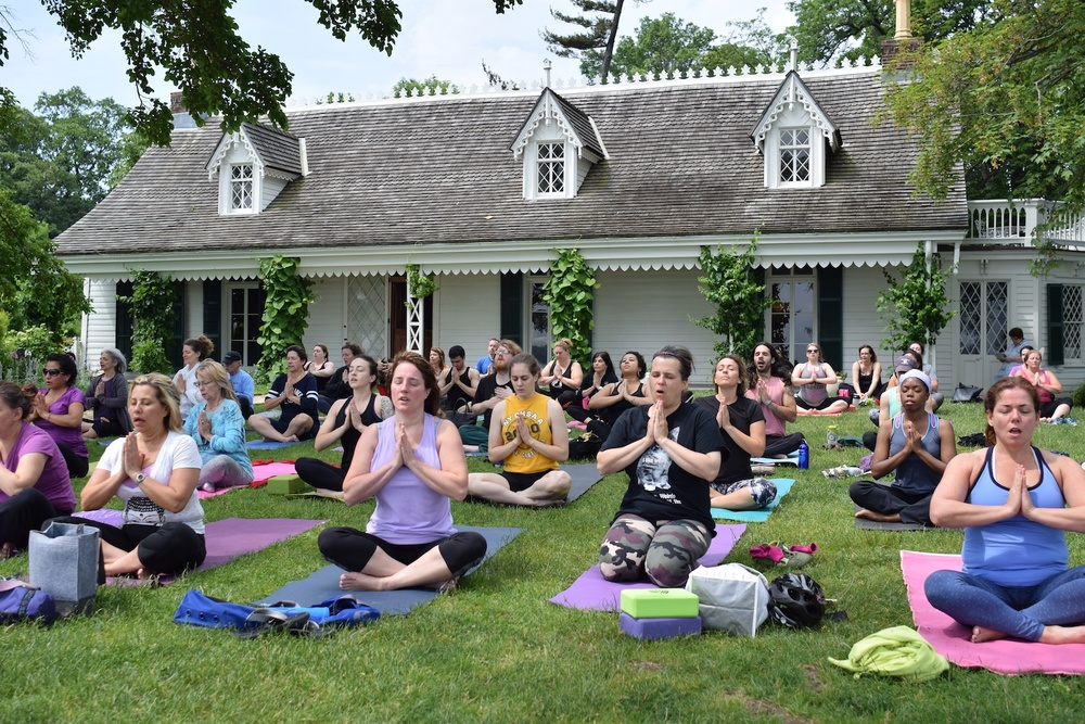 Summer Yoga at Clear Comfort