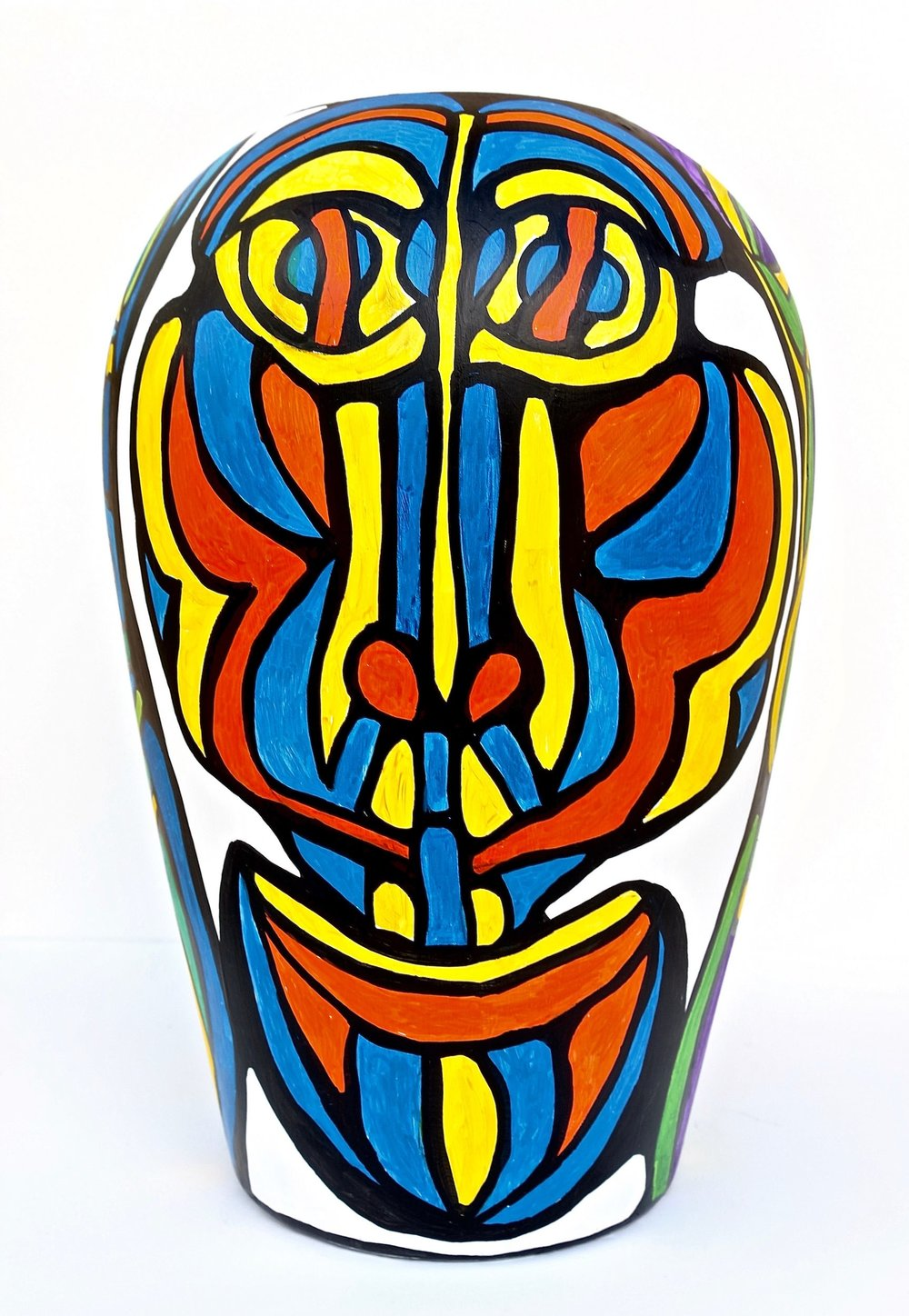 THINKER'S VASE SIDE THREE