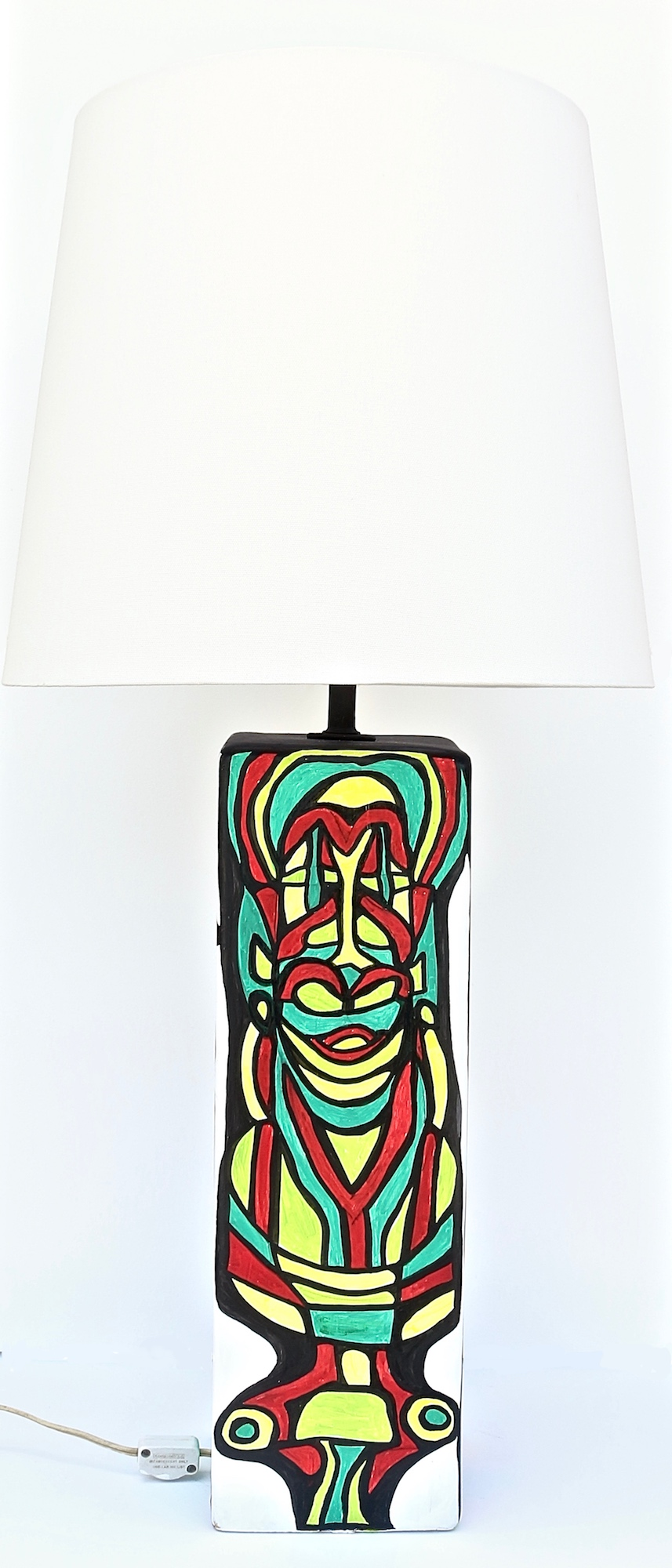 CUBIST LAMP SIDE THREE