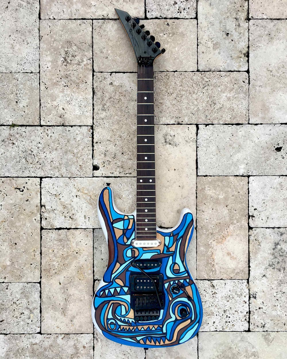 chandler electric guitar - bomba style