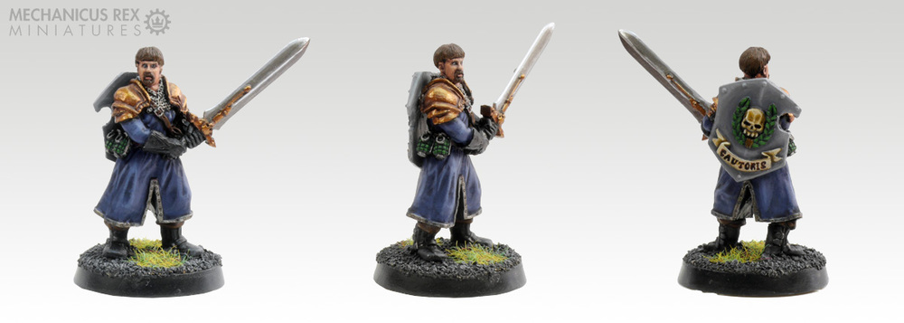 Konrad Tharsus - Warrior