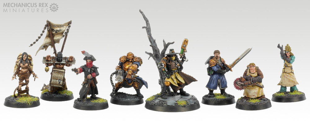 Inqusitor Kanis Sol and Retinue