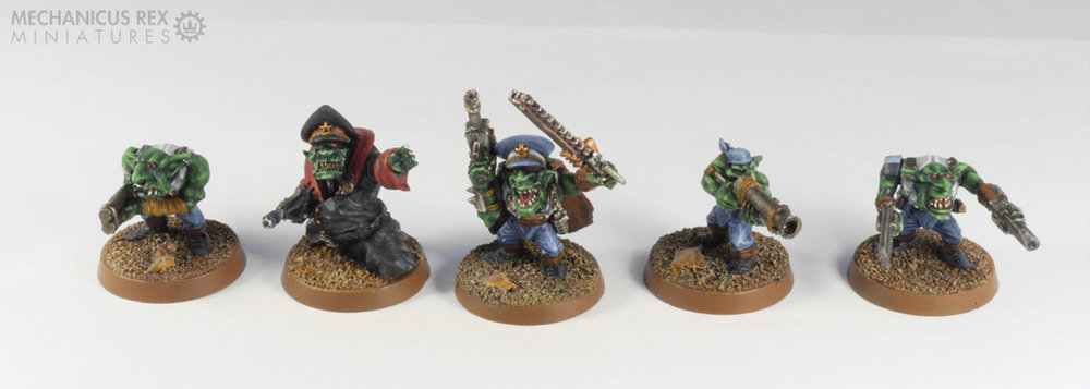 Grot Command Squad