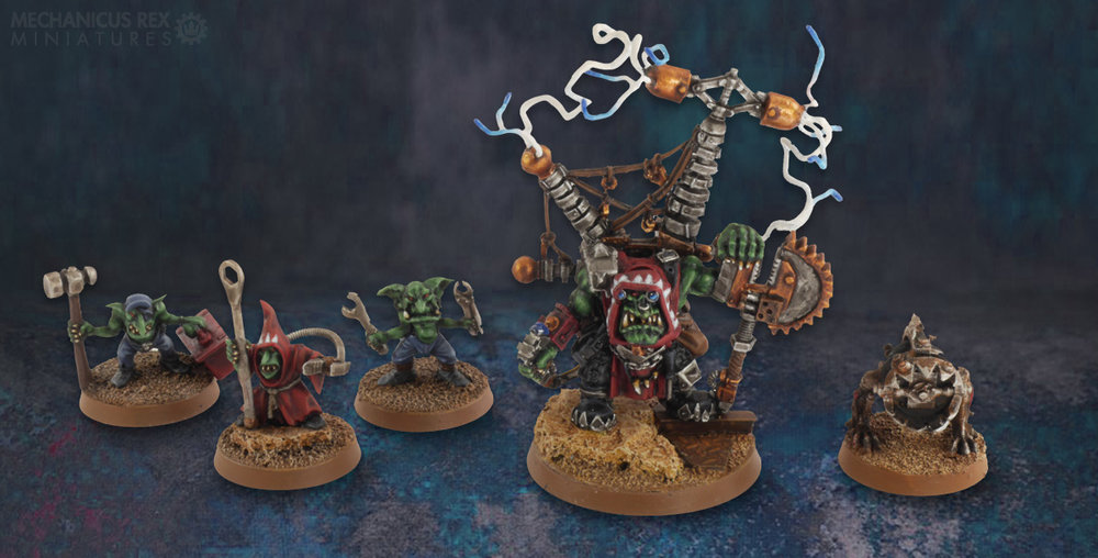 Big Mek Buzdak and crew