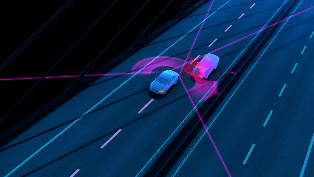 Volvo's optional Blind Spot Information System, which alerts drivers to the presence of vehicles in their blind spot, has also received an update to include steer assist functionality. [image credit: volvo cars]