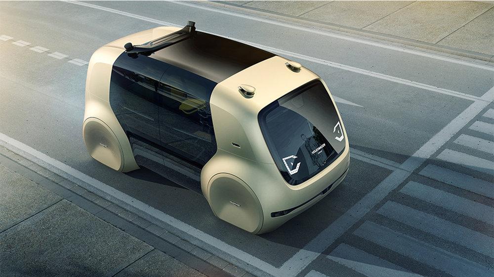 Volkswagen's SEDRIC concept Car [image credit: volkswagen group]