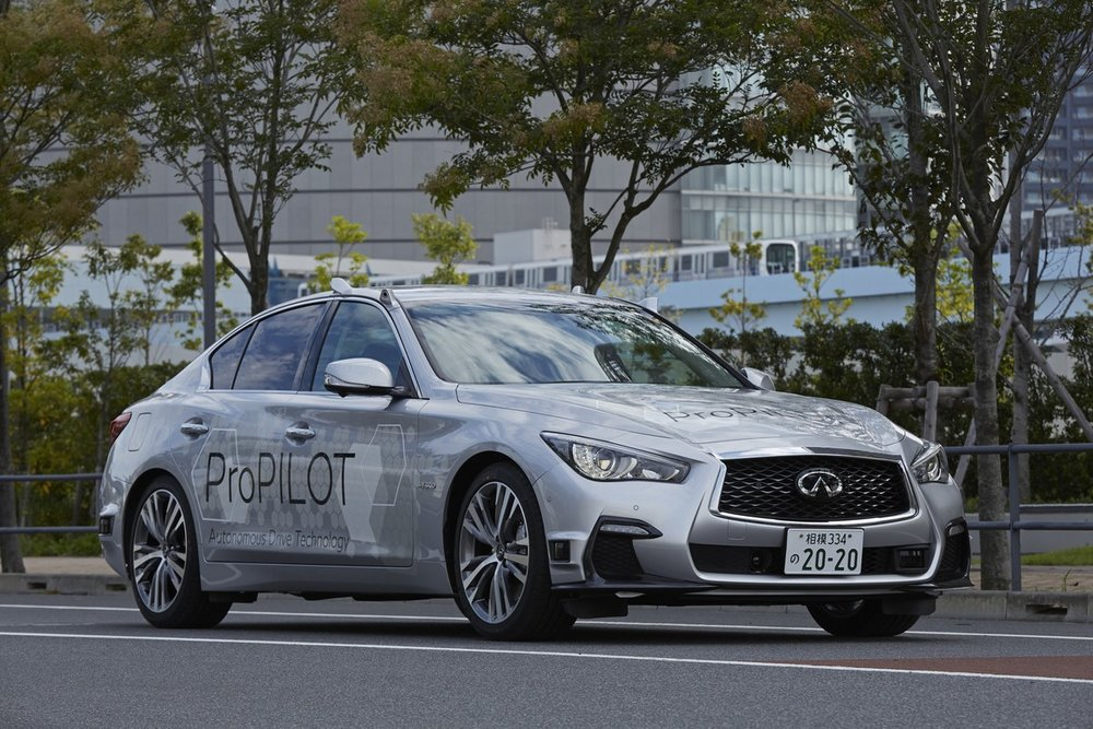 Nissan tests its fully autonomous prototype technology on the streets of Tokyo (credit: Nissan Motor Corporation)