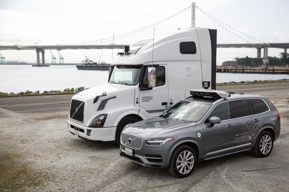 Uber will use NVIDIA technology for the AI computing system in its fleet of self-driving vehicles (Image courtesy of NVIDIA Corporation).