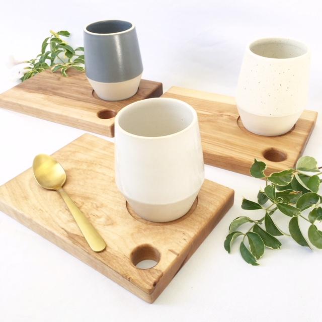 Coffee Mug + Wood Plate Set & Shop Pottery - Plateware Dinnerware Drinkware + Home Goods ...