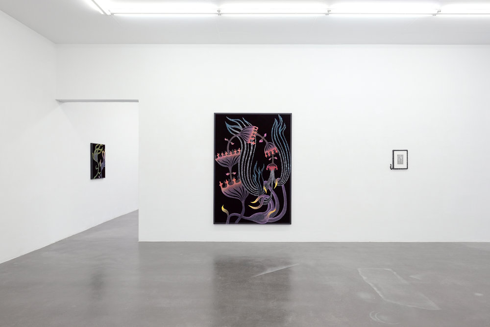 "Installation-view  of ""Eden"" at  KUK-Cologne Gallery"