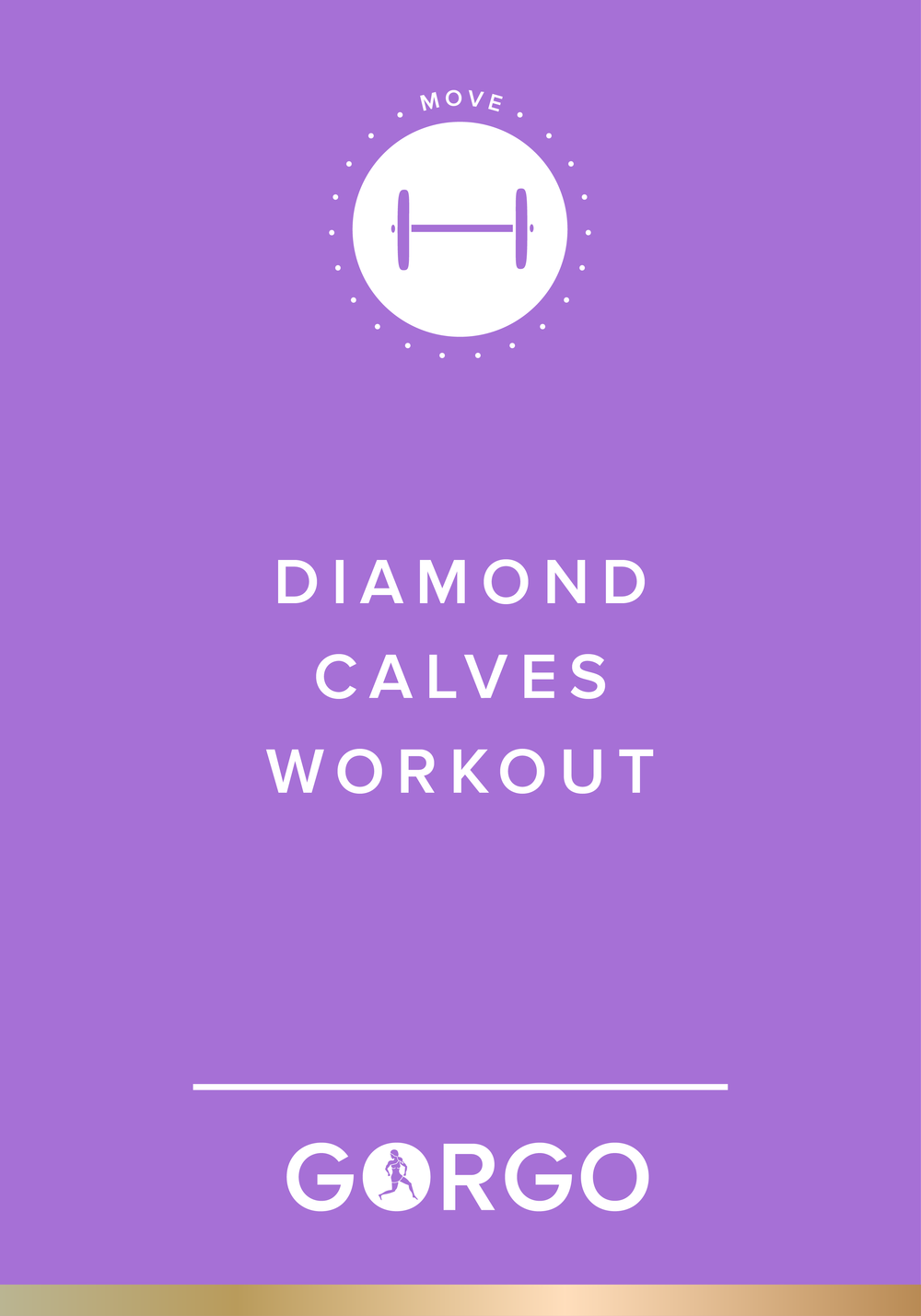 Diamond Calves Workout #gorgogirl #move
