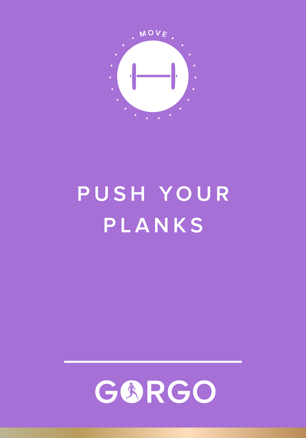 Push Your Planks #gorgogirl #move