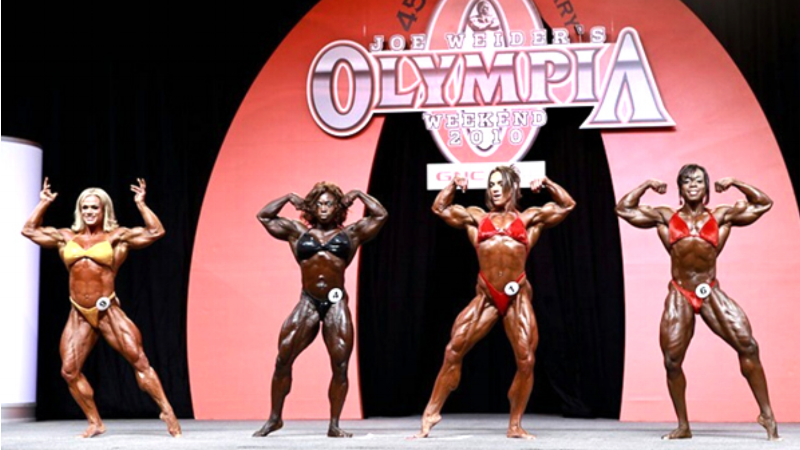 Bodybuilding Competitors Today